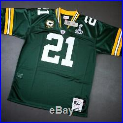 100% Authentic Charles Woodson Mitchell Ness 2010 Packers Jersey Size 48 XL Mens