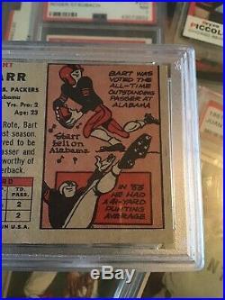 1957 Topps Football #119 Bart Starr Green Bay Packers RC Rookie HOF PSA 5 EX