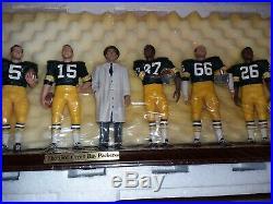 1966 Green Bay Packers Danbury Mint Team Statue NIB