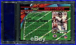 1991 Stadium Club Brett Farve Favre HOF #94 PSA 10 GEM MINT