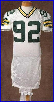release date: ffe21 366d3 1995 Reggie White Green Bay Packers Game Worn Used Jersey ...