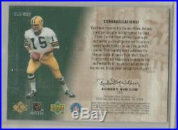2000 Bart Starr Game Jersey Greats Auto #157/200