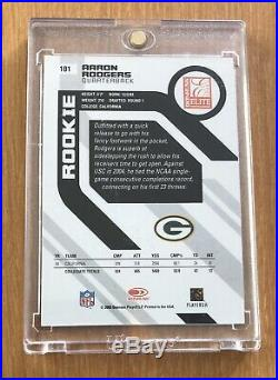 2005 Donruss Elite Aaron Rodgers Rookie /499 RC Green Bay Packers 134/499