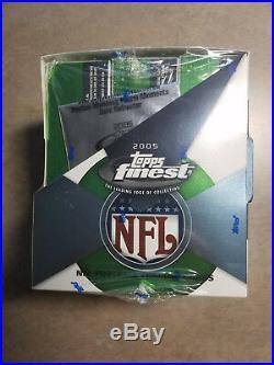 2005 Finest Football hobby box, poss RC A Rodgers, A Smith, F Gore, J Arrington