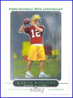 2005 Topps Chrome Aaron Rodgers rc rookie #190 Packers 79106