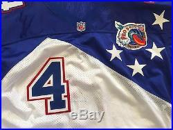 2007 Brett Favre Authentic Wilson Pro Cut On Field Pro Bowl Jersey Sz 52