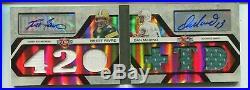 2008 Triple Threads BOOKLET Brett Favre / Dan Marino DUAL AUTO / JERSEY Packers