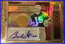 2011 Panini Gold Standard Bart Starr 6/10 14K gold autograph RARE
