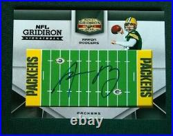 2011 Panini NFL Gridiron Aaron Rodgers Auto /21 Green Bay Packers Autograph