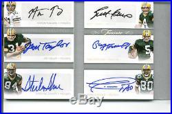 2017-18 National Treasures Football Treasure Chest Booklet /5 Green Bay Packers