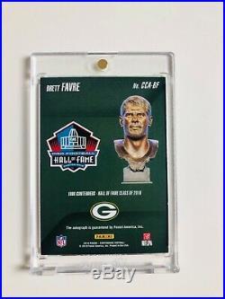 2018 Panini Contenders Brett Favre AUTO Card, SP #1/10 EBAY 1/1, Packers Legend