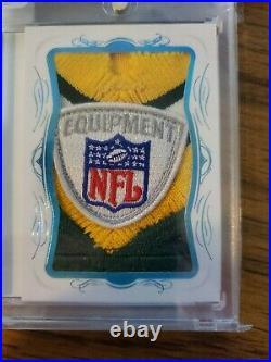 2019 Panini Flawless encased Brett Favre auto jersey 1/1 GAME USED NFL SHIELD