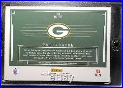 2019 Panini Impeccable Brett Favre On Card Auto 04/11 Green Bay Packers
