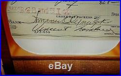 2020 Bowman Transcendent 1955 OverSized Cut Auto Vince Lombardi 1/1 Packers