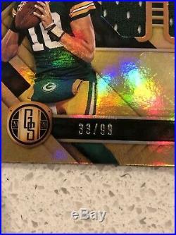 2020 Gold Standard JORDAN LOVE Packers Rookie Tri Patch Auto 1st NFL RPA /99