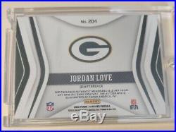 2020 Panini Certified Jordan Love Freshman Fabric Auto 1/1 Packers