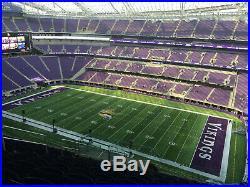 2 Tickets Minnesota Vikings Green Bay Packers 12/23
