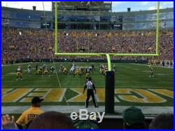 2 Tickets, South End Zone Green Bay Packers VS TBD. Divisional Playoff game