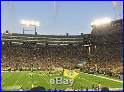 2 tickets Green Bay Packers Playoff Divisional Game Jan 12, 2020 at Lambeau