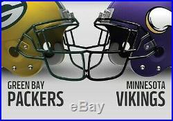 4 Packers vs Vikings tickets 9/15/19 at Lambeau Field