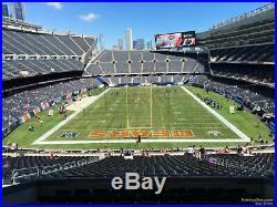 4 Tickets, Chicago Bears vs Green Bay Packers and Premium South Lot Parking Pass