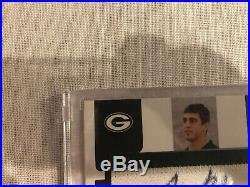 AARON RODGERS 2005 Donruss Zenith Rookie Card RC Auto Autograph #61/99 Graded