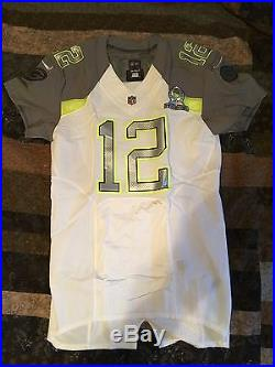 buy online d3c65 af77d Aaron Rodgers 2015 Pro Bowl game issued jersey with matching ...