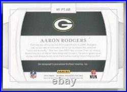 Aaron Rodgers 2019 National Treasures Personalized Auto Autograph 01/15 Packers