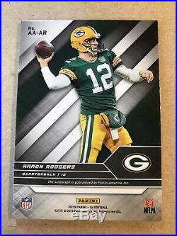 Aaron Rodgers 2019 Panini XR Gold Acclaimed Autograph Auto /5