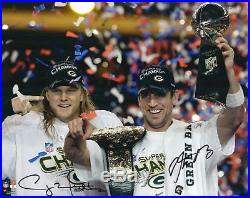 Aaron Rodgers & Clay Matthews GB Packers Autographed 16x20 Photo Fanatics