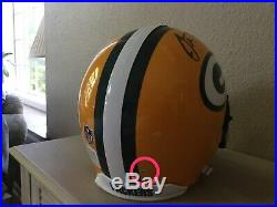 Aaron Rodgers Green Bay Packers Signed Full Size Authentic Helmet Steiner COA