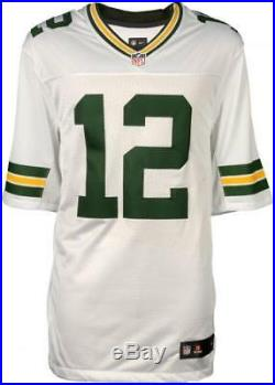 Aaron Rodgers Packers Signed Nike White Limited Jersey Fanatics