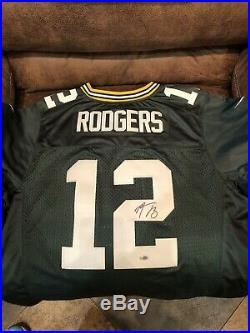 Aaron Rodgers Signed Jersey With COA