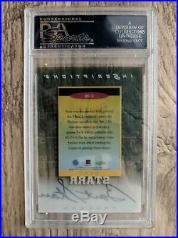 Bart Starr 1999 Score Supplemental Inscriptions #bs-15 Auto Psa 9
