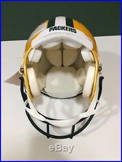 Bart Starr, Favre, Aaron Rodgers Signed Proline Helmet Champs & MVP's JSA Letter