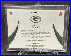 Brett Favre Packers 2019 Immaculate RECORDS Auto #/10