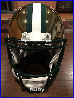 Charles Woodson Autographed Green Bay Packers Chrome Full Size Helmet Beckett