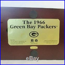 Danbury Mint 1966 Green Bay Packers Super Bowl Team Figurines