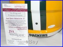Davante Adams Autographed Signed Green Bay Packers Full Size Speed Helmet Jsa