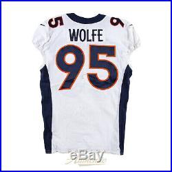 Derek Wolfe Game Worn Jersey From 9.22.19 vs Green Bay Packers