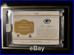 Don Hutson 2016 Flawless autograph Green Bay Packers cut auto