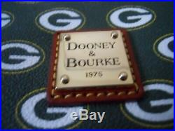 Dooney & Bourke Cross Body Hand Bag Green Bay Packers new with tags