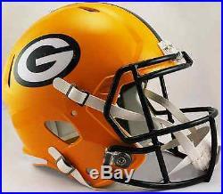 GREEN BAY PACKERS NFL Riddell SPEED Full Size Replica Football Helmet