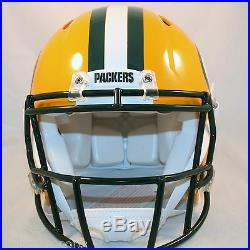 GREEN BAY PACKERS -Riddell Full-Size Speed Authentic Helmet
