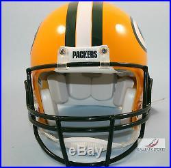 GREEN BAY PACKERS Riddell Full-Size VSR4 Authentic Helmet