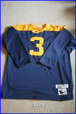 GREEN BAY PACKERS Vtg Mitchell & Ness Football Jersey TONY CANADEO sewn size 52