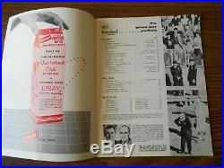 Green Bay Packers 1961 Yearbook with Forrest Gregg on the cover