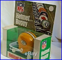 Green Bay Packers NFL AFL Sportoy Gumball Helmet Buggy Cart Car NIB Orange Prod