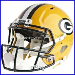 Green Bay Packers Riddell NFL Full Size Speed Replica Football Helmet