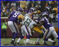 Green Bay Packers Vikings Game Used Football Ball Interception Micah Hyde 2014